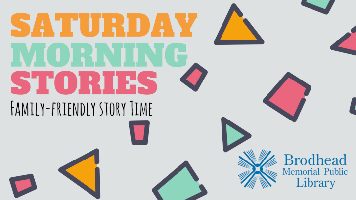 Saturday Morning Stories Family-Friendly Story Time